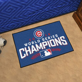 "Chicago Cubs 2016 World Series Champions Starter Rug 19""x30"""