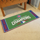 "Chicago Cubs 2016 World Series Champions Baseball Runner Mat 30""x72"""
