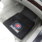 "Chicago Cubs 2016 World Series Champions Heavy Duty 2-Piece Vinyl Car Mats 18""x27"""