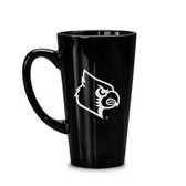 Louisville Cardinals 16 oz. Deep Etched Black Java Mug