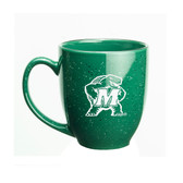 Maryland Terrapins 15 oz. Deep Etched Green Bistro Mug