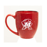 Maryland Terrapins 15 oz. Deep Etched Red Bistro Mug