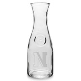 Northeastern Huskies 1 Litre Deep Etched Wine Carafe