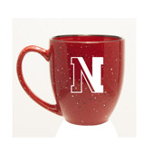 Northeastern Huskies 15 oz. Deep Etched Red Bistro Mug