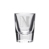 Northeastern Huskies Deep Etched Classic Shot Glass