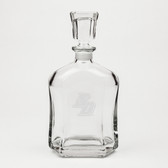 San Diego Tritons Deep Etched Whiskey Decanter