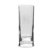 South Carolina Gamecocks 13.5 oz. Deep Etched Square Round Double Old Fashion Glass