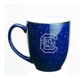 South Carolina Gamecocks 15 oz. Deep Etched Cobalt Bistro Mug