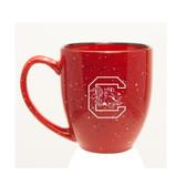 South Carolina Gamecocks 15 oz. Deep Etched Red Bistro Mug