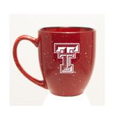 Texas Tech Red Raiders 15 oz Deep Etched Red Bistro Mug