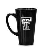 Texas Tech Red Raiders 16 oz Deep Etched Black Java Mug