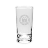 Coast Guard Academy 10 oz Deep Etched Highball Glass