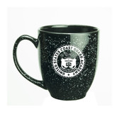 Coast Guard Academy 15 oz Deep Etched Black Bistro Mug