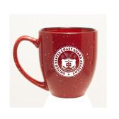 Coast Guard Academy 15 oz Deep Etched Red Bistro Mug
