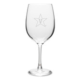 Vanderbilt Commodores 19 oz Deep Etched Red Wine Goblet