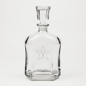 Vanderbilt Commodores Deep Etched Whiskey Decanter