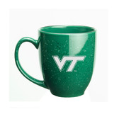 Virginia Tech Hokies 15 oz Deep Etched Green Bistro Mug