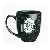 Ohio State Buckeyes 15 oz. Deep Etched Black Bistro Mug