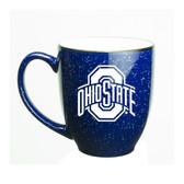 Ohio State Buckeyes 15 oz. Deep Etched Cobalt Bistro Mug