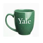 Yale Bulldogs 15 oz. Deep Etched Green Bistro Mug