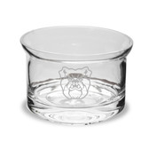Butler Bulldogs Deep Etched 5 inch Flair Crystal Candy Bowl