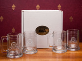 Butler Bulldogs Deep Etched Colonial Tankard Set of 4