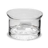 Purdue Boilermakers 5 inch Deep Etched Crystal Candy Bowl