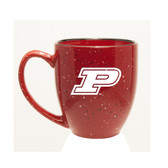 Purdue Boilermakers 15 oz. Deep Etched Red Bistro Mug