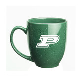 Purdue Boilermakers 15 oz. Deep Etched Green Bistro Mug