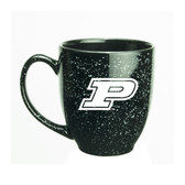 Purdue Boilermakers 15 oz. Deep Etched Black Bistro Mug