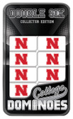 Nebraska Cornhuskers Dominoes