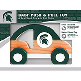 Michigan State Spartans Push/Pull Toy