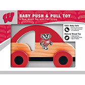 Wisconsin Badgers Push/Pull Toy