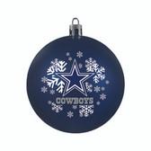 Dallas Cowboys Ornament - Shatterproof Ball