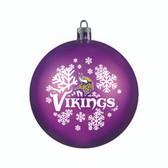 Minnesota Vikings Ornament - Shatterproof Ball