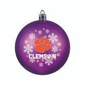 Clemson Tigers Ornament - Shatterproof Ball