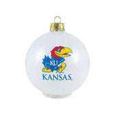 Kansas Jayhawks Ornament - LED Color Changing Ball