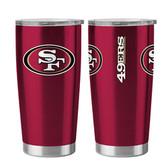 San Francisco 49ers Travel Tumbler - 20 oz Ultra
