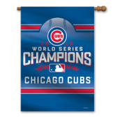 Chicago Cubs Banner - Premium 28x40 Wall - 2016 World Series Champs