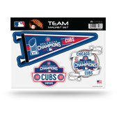 Chicago Cubs Team Magnet Set - 2016 World Series Champs