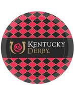 """Kentucky Derby 7"""" Paper Plates - 8/pkg."""