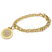 Memphis Tigers Gold Charm Bracelet