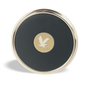 Embry-Riddle Aeronautical University Gold Tone Coaster