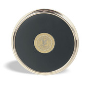 US Air Force Academy Gold Tone Coaster