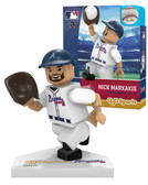 Atlanta Braves NICK MARKAKIS Home Uniform Limited Edition OYO Minifigure