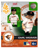 Baltimore Orioles Earl Weaver Hall of Fame Limited Edition OYO Minifigure
