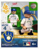 Milwaukee Brewers Paul Molitor Hall of Fame Limited Edition OYO Minifigure