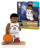 New Orleans Pelicans ANTHONY DAVIS Home Uniform Limited Edition OYO Minifigure