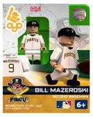 Pittsburgh Pirates Bill Mazeroski Hall of Fame Limited Edition OYO Minifigure