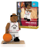 Toronto Raptors DEMAR DEROZAN Home Uniform Limited Edition OYO Minifigure